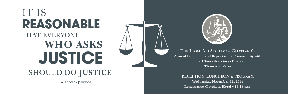 2014 Legal Aid event - banner ad
